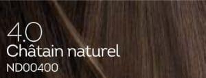 Coloration naturelle chatain pour cheveux délicats