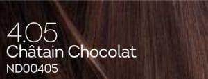 Coloration naturelle chatain chocolat pour cheveux délicats