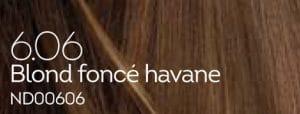 Coloration naturelle blond foncé havane pour cheveux délicats