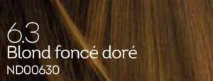Coloration naturelle blond foncé doré pour cheveux délicats