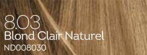 Coloration naturelle blond clair pour cheveux délicats