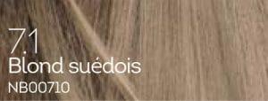 Coloration naturelle blond suédois