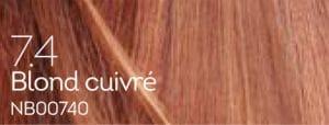 Coloration naturelle blond cuivré