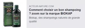 acteur-nature shampoings BioKap alma bio