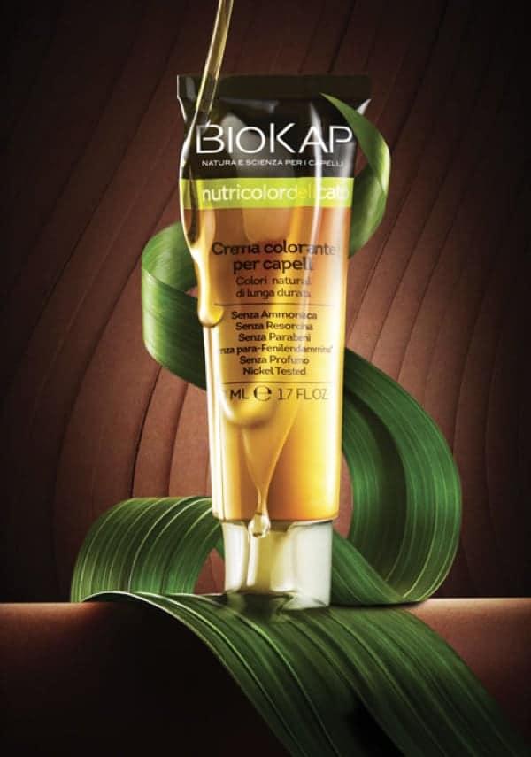Colorations naturelles BioKap à base d'ingrédients végétaux