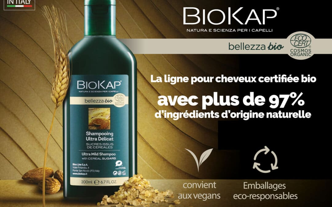 BELLEZZA BIO, 97% d'ingrédients d'origine naturelle
