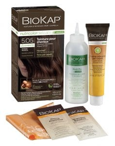 Coloration naturelle express rapide pour cheveux à base d'ingrédients végétaux sans paraben, ammoniaque ni résorcine