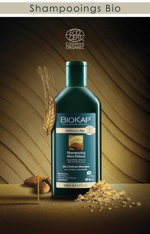 Shampoings bio BioKap Bellezza pour la santé et la beauté de vos cheveux