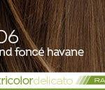 Coloration naturelle rapide blond foncé havane pour cheveux délicats