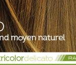 Coloration naturelle rapide blond moyen pour cheveux délicats