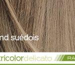 Coloration naturelle rapide blond suédois pour cheveux délicats