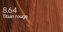 Coloration naturelle titian rouge pour cheveux délicats