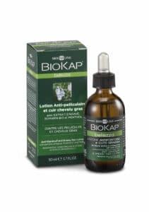 Lotion anti-pelliculaire et cheveux gras ingrédients naturels