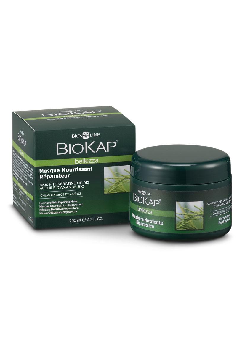 Masque nourrissant réparateur naturel pour cheveux secs et abimés