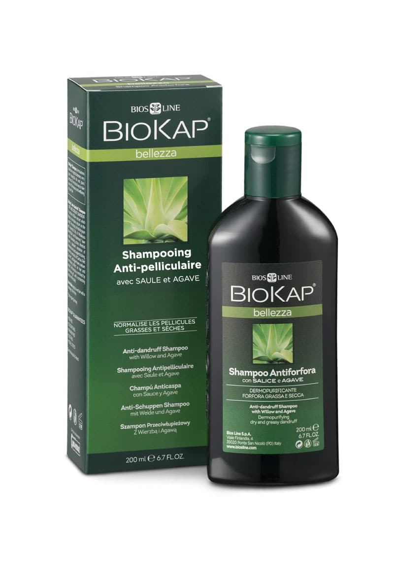 Shampoing antipelliculaire à base d'ingrédients naturels, d'huiles essentielles et d'extraits de plantes