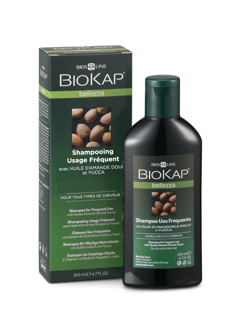 Shampoing pour usage fréquent à base d'ingrédients naturels pour la beauté et le soin de vos cheveux